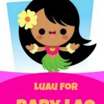 Luau Baby Shower