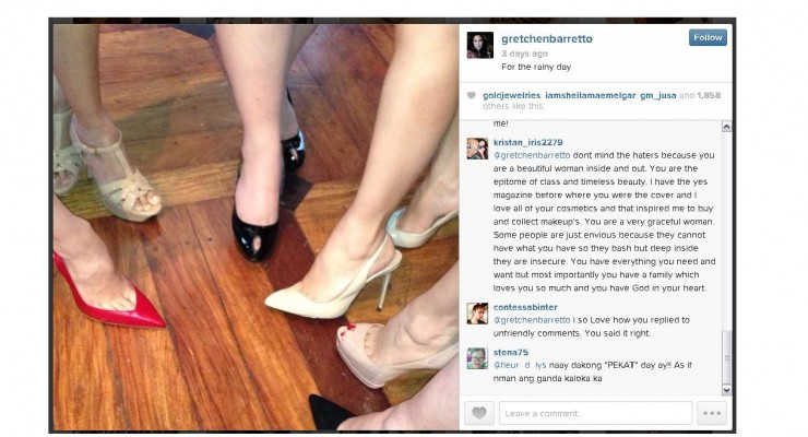 Gretchen Barretto's Feet Critic