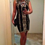 OOTS: Beaded Black Dress
