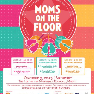Press Release: Moms on the Floor 2013