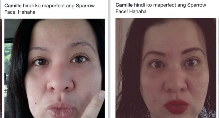 May Nag-follow sa Sparrow Face
