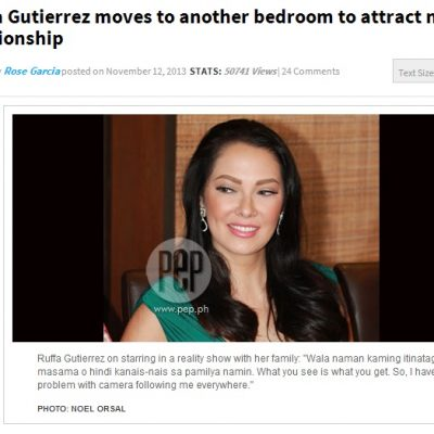 Ruffa's Feng Shui Bedroom