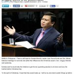 Jinggoy the Peacemaker