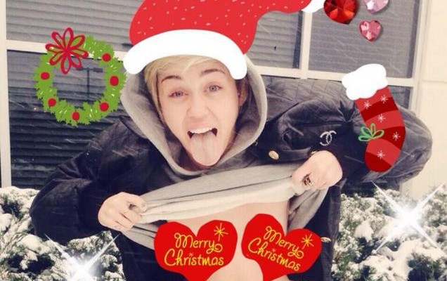 MERRY CHRISTMAS from Miley Cyrus