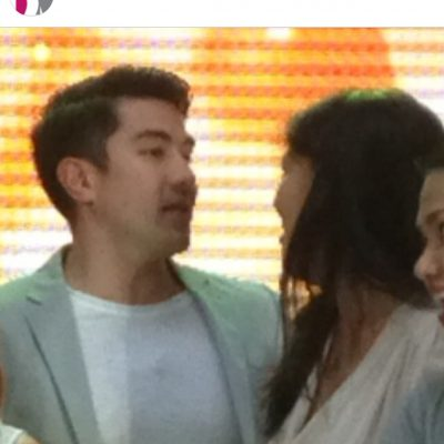 Moment with Luis Manzano