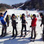 Ski Skidding
