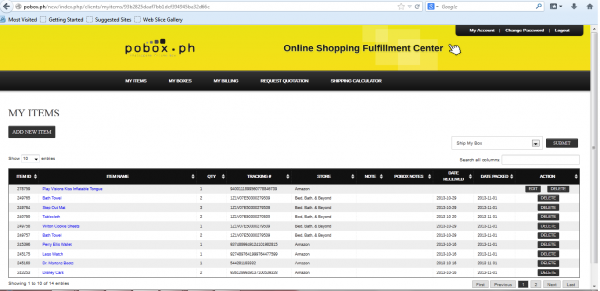 Online Shopping with BPI and POBox.ph | The Soshal Network on k letter box, post box, thought box, bb box, ac box,