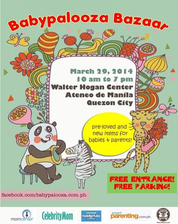 Babypalooza March 2014 flyer.