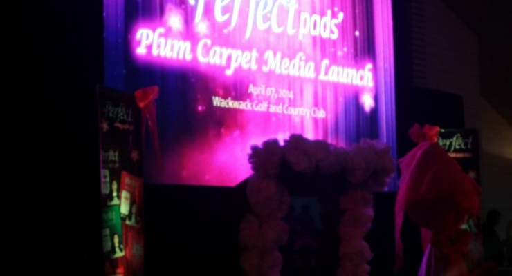 Perfect Pads Purple Carpet Launch