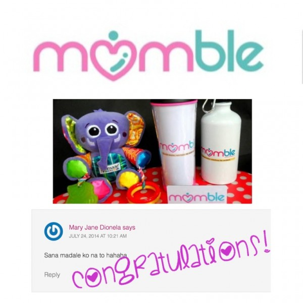 momble-giveaway-winner