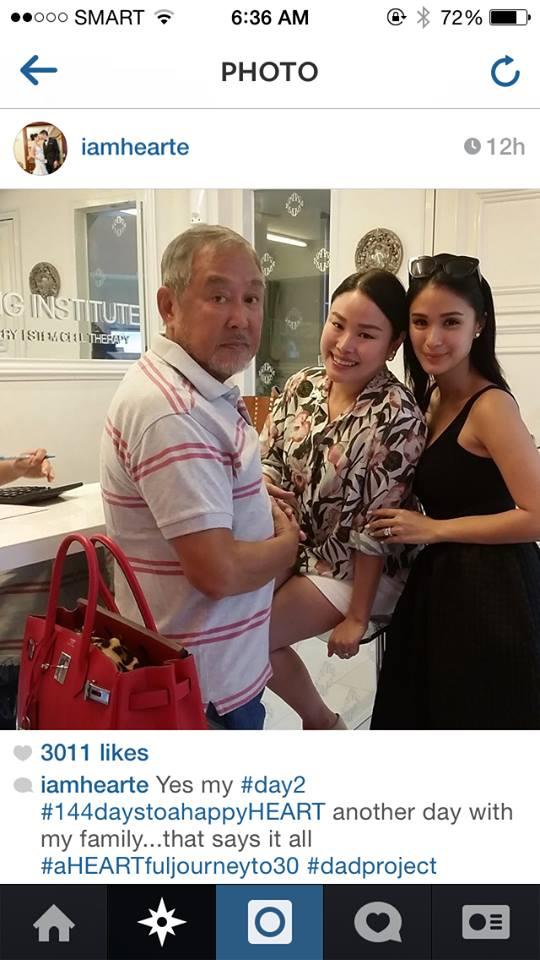 net, kaya daw nag-post ng ganito si Heart ay para inggitin si Marian