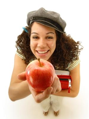 teachers-pet-holding-apple
