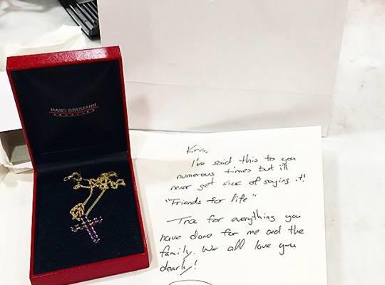 Derek's Gift to Kris