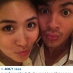 Sarah and Matteo's New Year Selfie