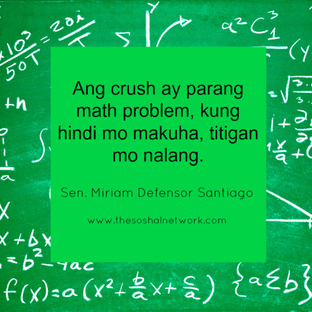 Hugot Lines by Sen  Miriam Santiago | The Soshal Network