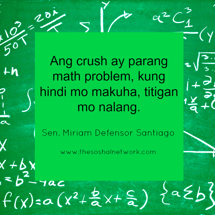 valentines day quote for a crush - Hugot Lines by Sen Miriam Santiago