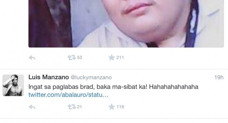 Luis Manzano Nag-react Dahil Tinawag Na Bakla