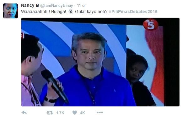 #PiliPinasDebates2016 Tweets
