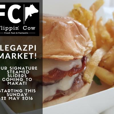 Flippin' Cow at Legaspi Market