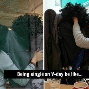 Being Single on Valentine's Day Be Like