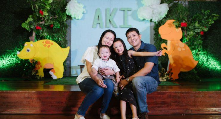Dino Party for Baby Aki