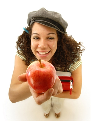 teachers-pet-holding-apple