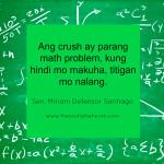 Hugot Lines by Sen. Miriam Santiago